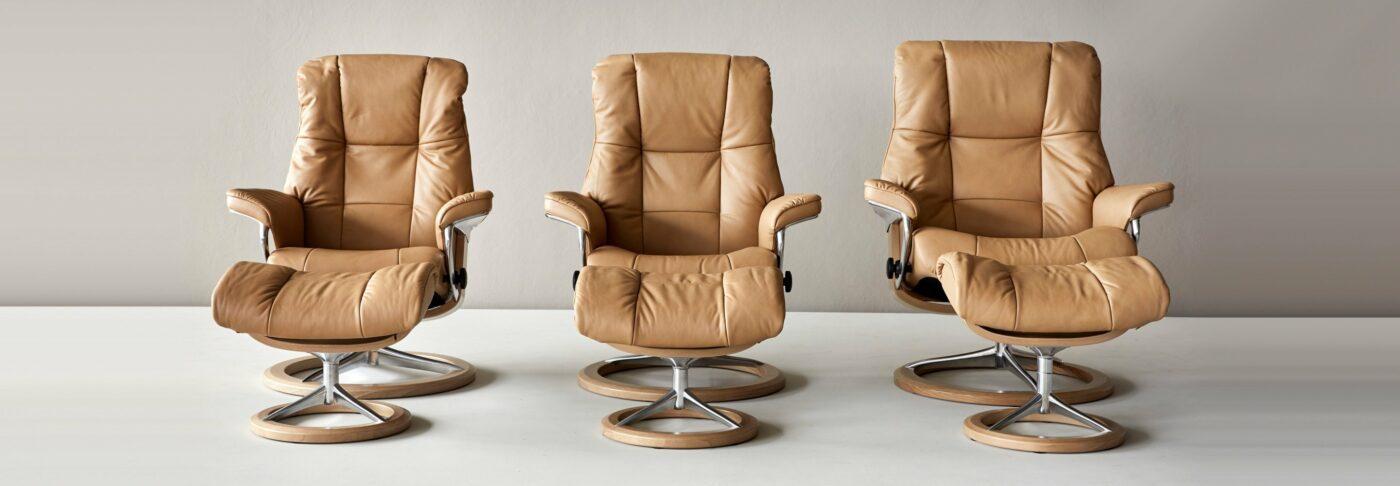 Stressless Sessel gibt es in verschiedenen Größen