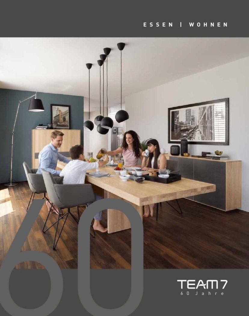 Team 7 Katalog Essen und Wohnen - Vorschau