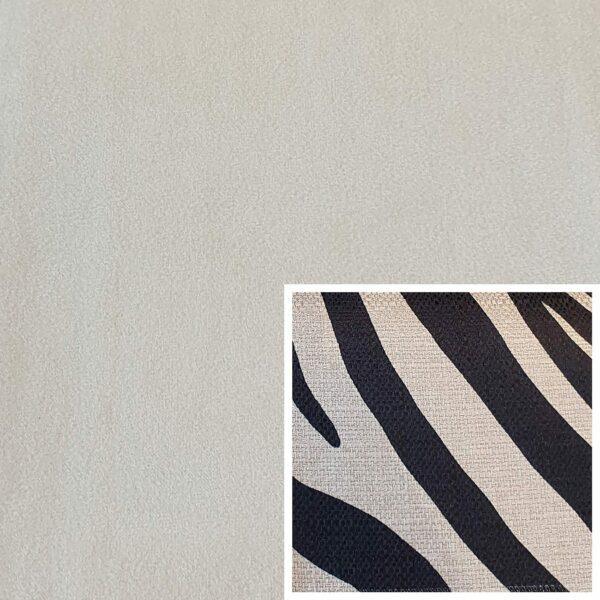 Trendstore Gaven Sofa natur Kissen Zebra
