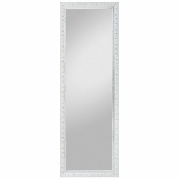 Trendstore Pius Rahmenspiegel - Rahmen weiß - 50 x 150 cm