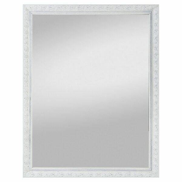 Trendstore Sabrin Rahmenspiegel - Rahmen weiß - 55 x 70 cm