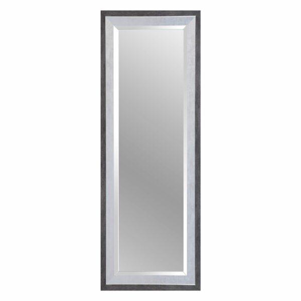 Trendstore Alexa Rahmenspiegel in Schwarz und Silber