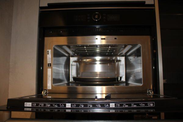 Whirlpool AMW 512/NB Einbau-Grill Mikrowelle