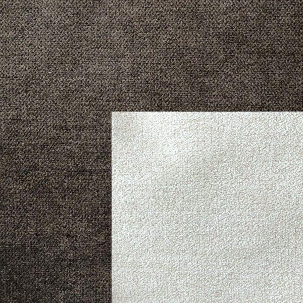Bezug Korpus und Zierkissen Webstoff Enjoy 04 braun – Bezug Sitz und Rückenkissen Webstoff Aston 01 cream