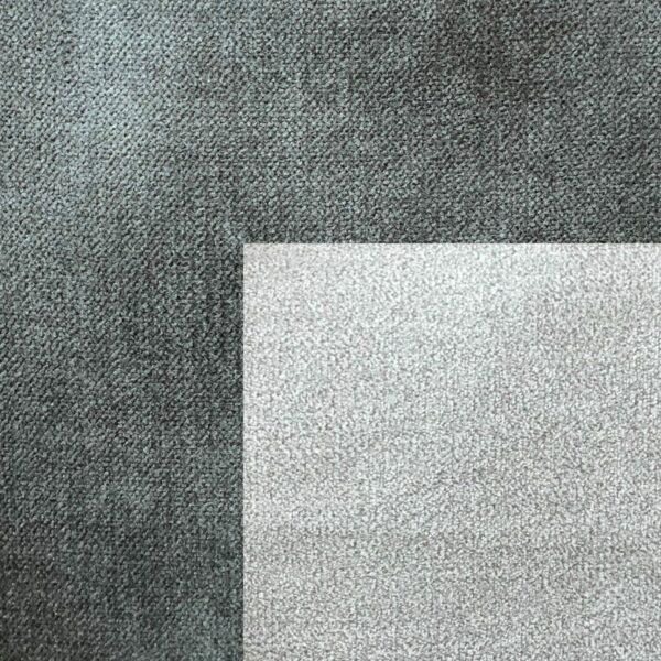 Bezug Korpus in Stone – Bezug Sitzfläche in Silber