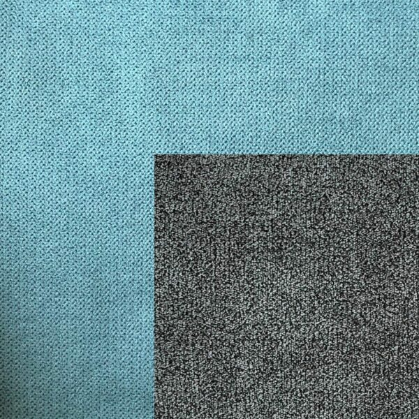 Bezug Korpus in Mint – Bezug Sitzfläche in Stone