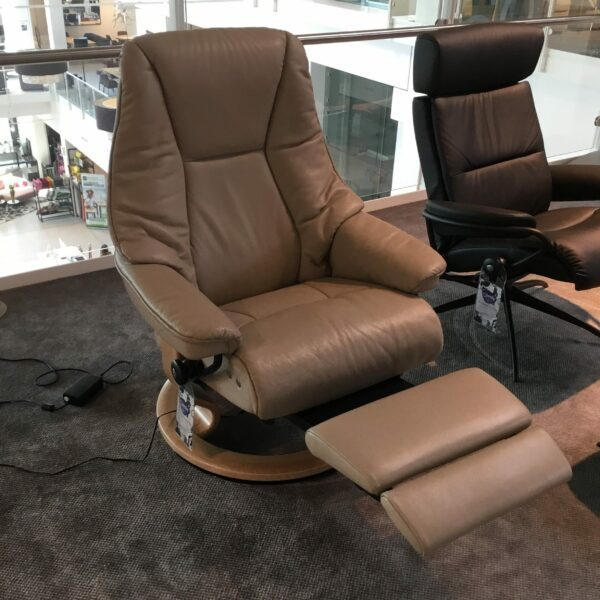 Stressless Live Classic Sessel – Detail Funktion
