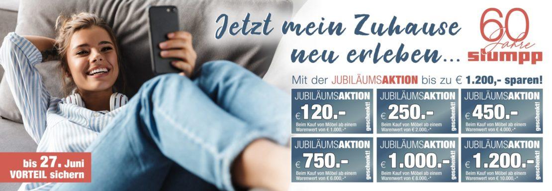 Jubiläums-Aktion: Mein Zuhause neu erleben!