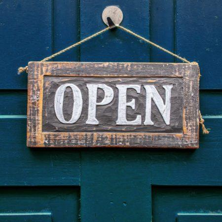 Wir haben ab dem 4. Mai wieder geöffnet!