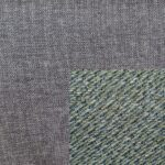 Trendstore Adina Bett Bezug platinum-grey - Bezug Kopfteil pale-green
