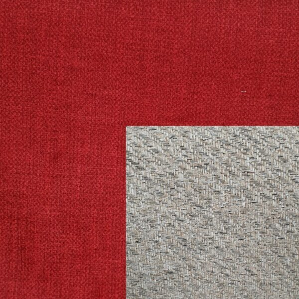 Trendstore Adina Bett Bezug flkame-red - Bezug Kopfteil grey-beige