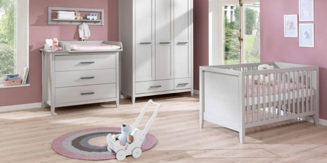 Beispielhafte Einrichtung für ein Babyzimmer