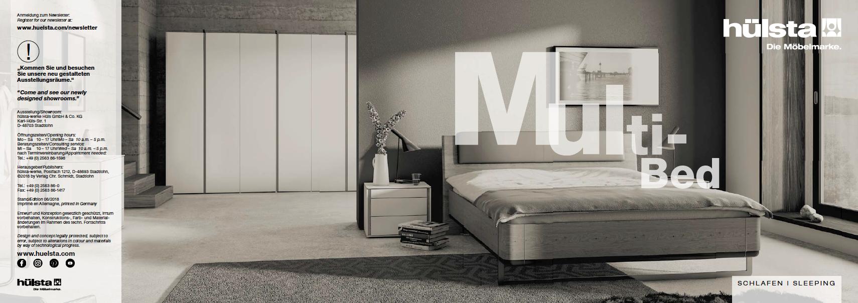 Hülsta Multi-Bed Broschüre