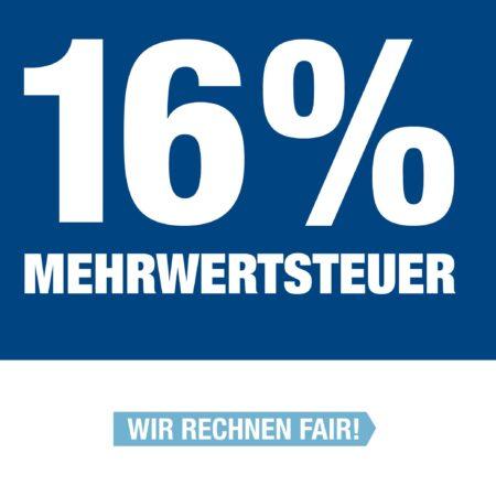Wir geben über 100 % an Sie weiter!