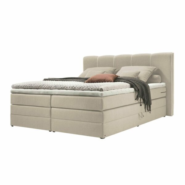 set one by Musterring Memphis Boxspringbett in der Farbe Beige