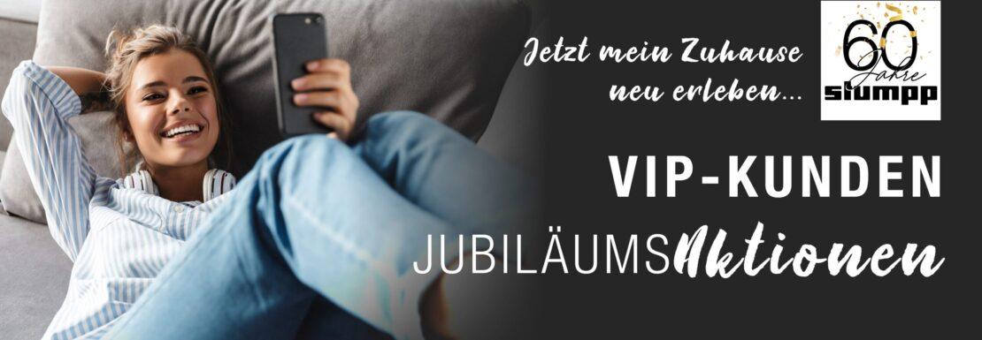 VIP Jubiläumsaktionen: Mein Zuhause neu erleben