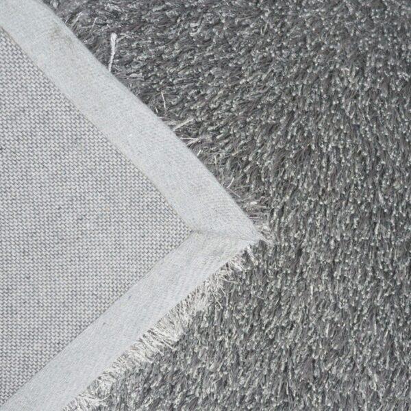 Astra New Feeling Teppich in der Farbe Silber – Detailansicht