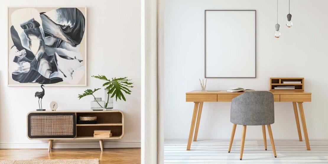 Einfache, aber schöne Wohnungseinrichtungen
