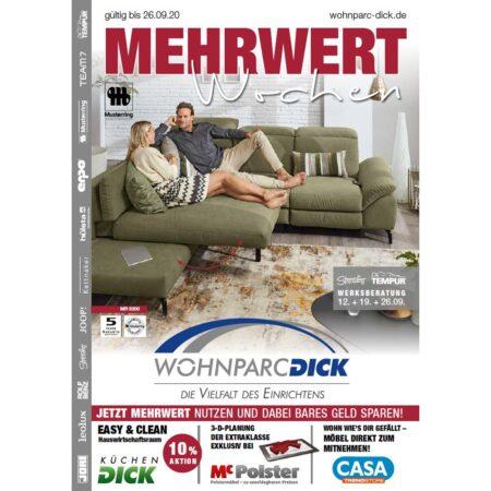 Mehrwert-Wochen bei Wohnparc DICK