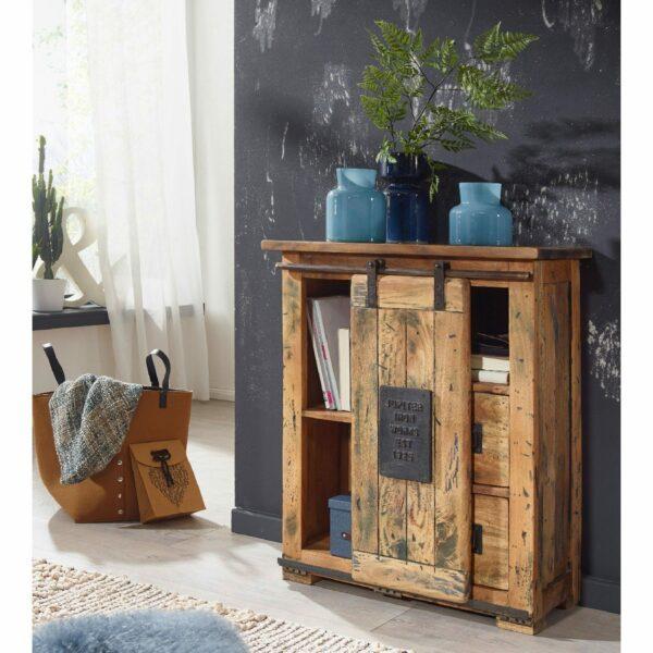 Trendstore Garbi Sideboard mit 1 Tür und 2 Schubkästen – Wohnbeispiel