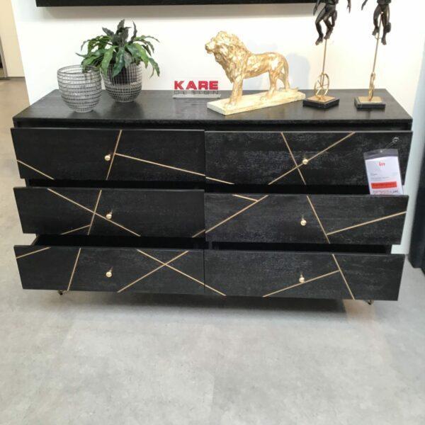 Kare Gold Vein Sideboard