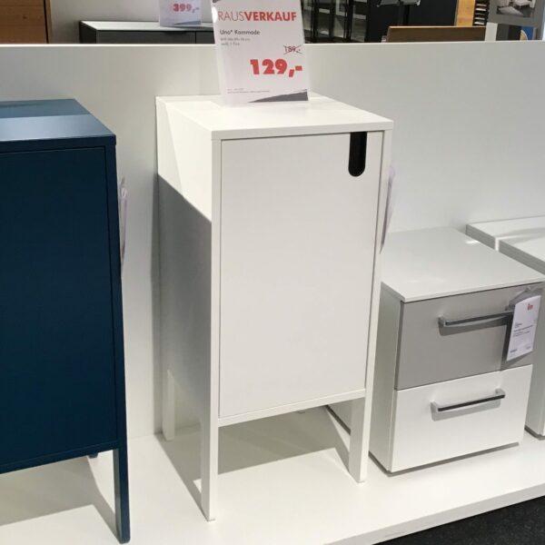 Trendstore Uno Kommode – Farbe Weiß
