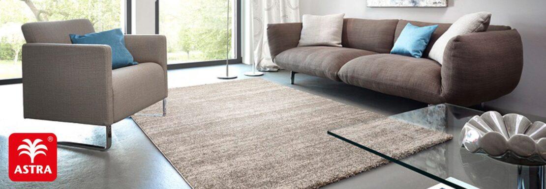 Neuer Look im Handumdrehen: Teppiche von Astra
