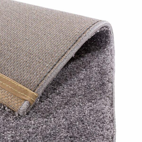 """Astra """"Savona 180"""" Teppich in der Farbe Silber – Ecke"""