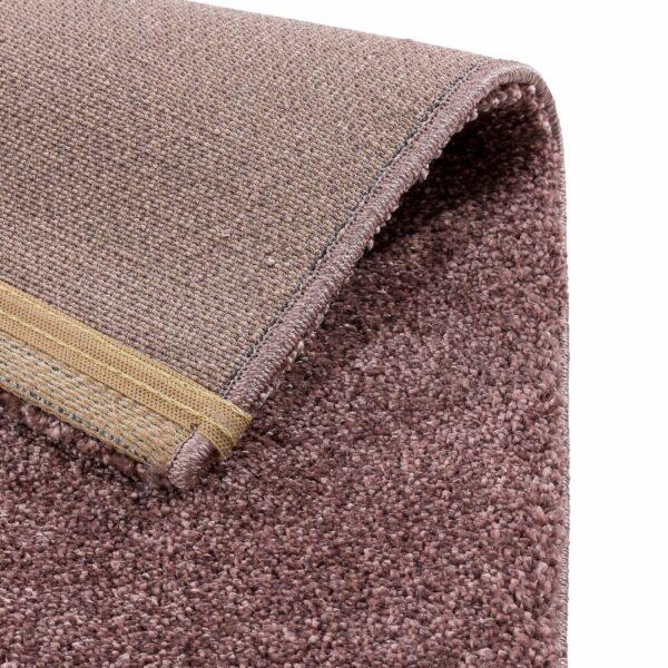 """Astra """"Savona 180"""" Teppich in der Farbe Aubergine – Ecke"""