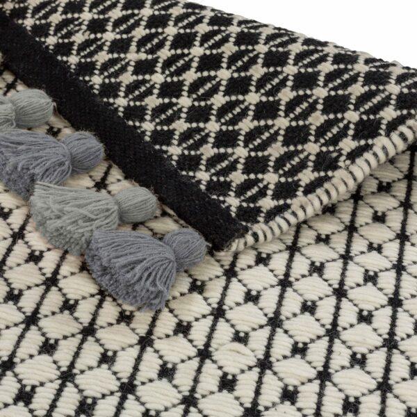 Teppich Insula in Grün Detailansicht