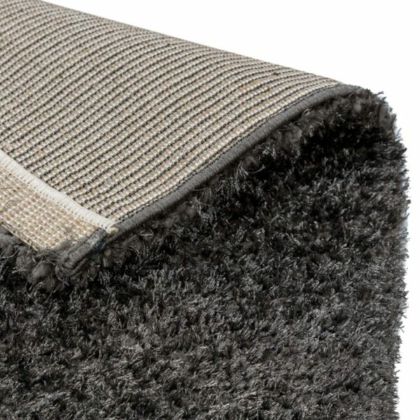 Astra Matera Teppich rechteckig Farbe Anthrazit – Ecke
