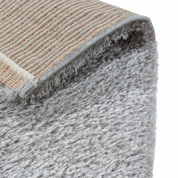 Astra Matera Teppich rechteckig Farbe Grau – Ecke