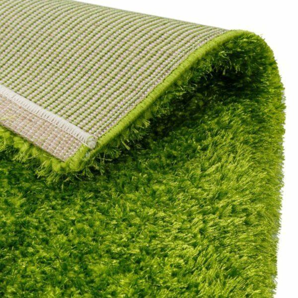 Astra Matera Teppich rechteckig Farbe Grün – Ecke