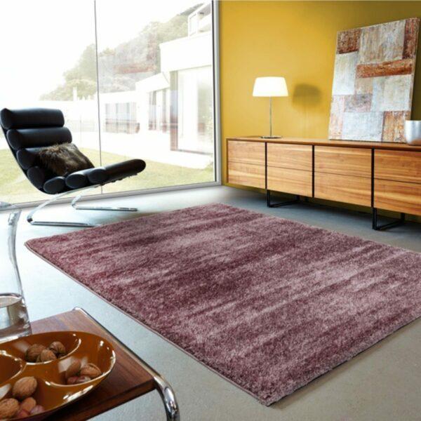 Astra Matera Teppich rechteckig Farbe Mauve – Impression