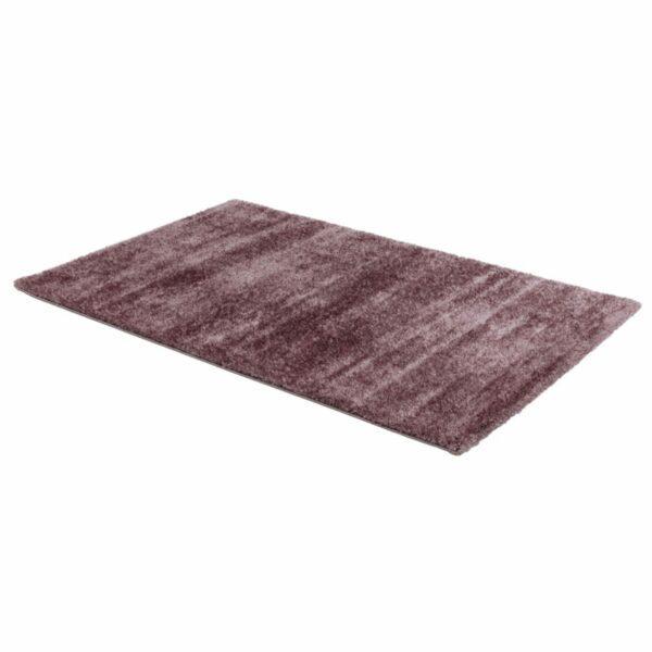 Astra Matera Teppich rechteckig Farbe Mauve – seitliche Ansicht