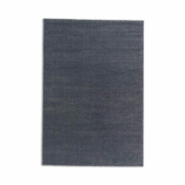 """Astra """"Pure"""" Teppich in der Farbe Anthrazit in frontaler Ansicht."""