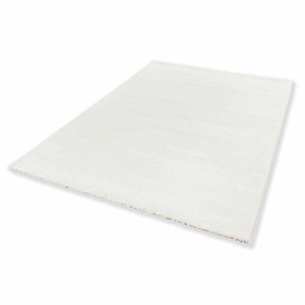 """Astra """"Pure"""" Teppich in der Farbe Creme in liegender Ansicht."""