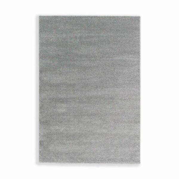 """Astra """"Pure"""" Teppich in der Farbe Silber in frontaler Ansicht."""