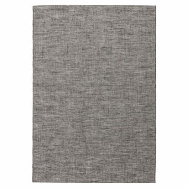 """Astra """"Rho"""" Teppich im Design 190 mit der Farbe Anthrazit in frontaler Ansicht."""