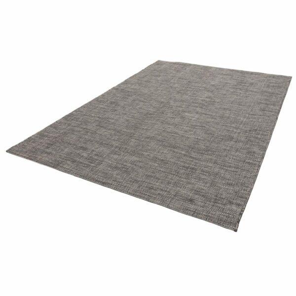 """Astra """"Rho"""" Teppich im Design 190 mit der Farbe Anthrazit in liegender Ansicht."""