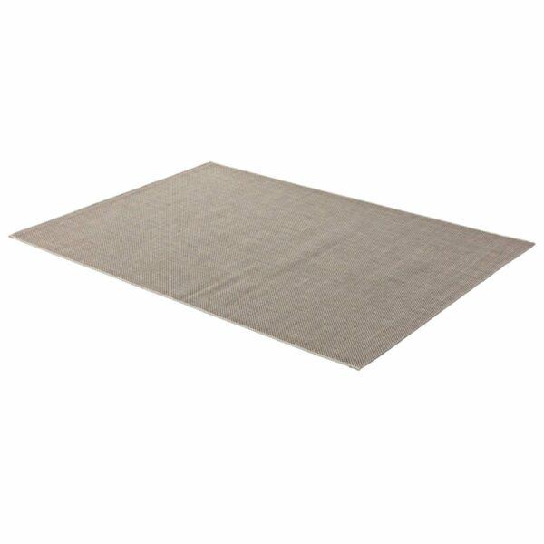 """Astra """"Rho"""" Teppich im Design 190 mit der Farbe Braun in liegender Ansicht."""