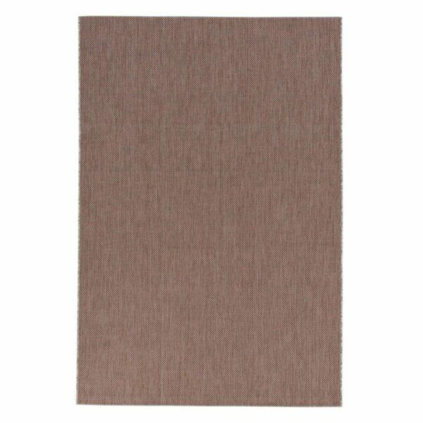 """Astra """"Rho"""" Teppich im Design 190 mit der Farbe Rot in frontaler Ansicht."""