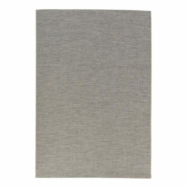 """Astra """"Rho"""" Teppich im Design 190 mit der Farbe Silber in frontaler Ansicht."""