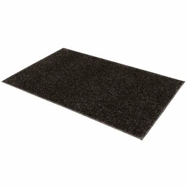 """Astra """"Samoa"""" Teppich in der Farbe Anthrazit in liegender Ansicht."""