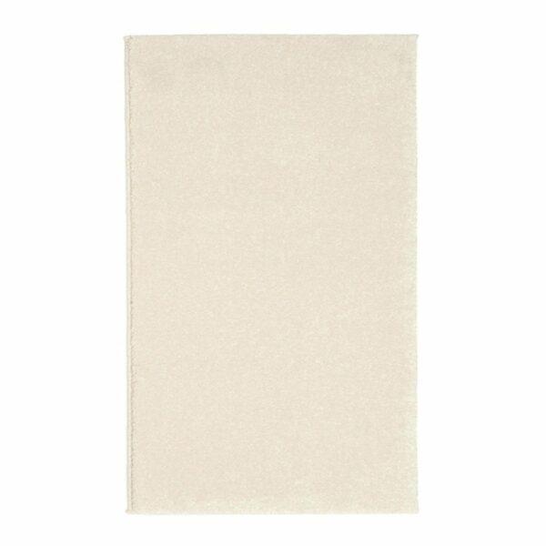 """Astra """"Samoa"""" Teppich in der Farbe Creme in frontaler Ansicht."""