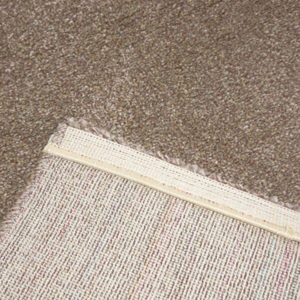"""Astra """"Samoa"""" Teppich in der Farbe Erde in Detailansicht."""