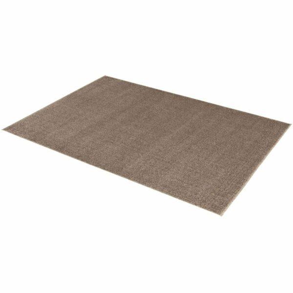 """Astra """"Samoa"""" Teppich in der Farbe Erde in liegender Ansicht."""