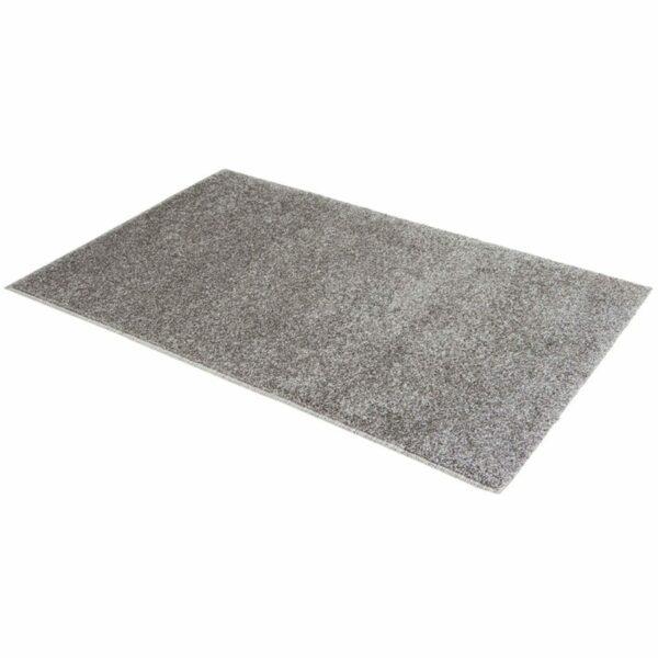 """Astra """"Samoa"""" Teppich in der Farbe Grau in liegender Ansicht."""