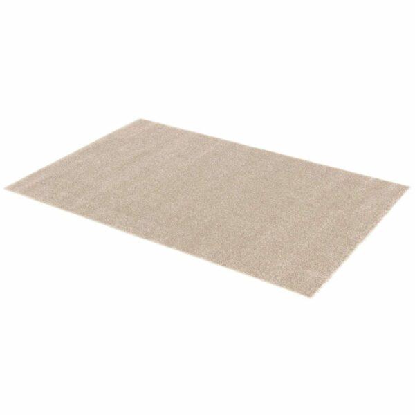 """Astra """"Samoa"""" Teppich in der Farbe Haselnuss in liegender Ansicht."""