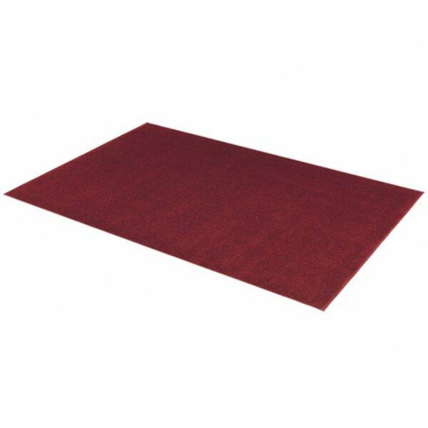 """Astra """"Samoa"""" Teppich in der Farbe Rot in liegender Ansicht."""